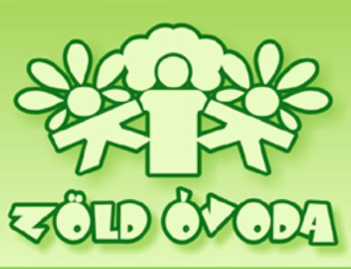 Óvodánk elnyerte a Zöld Óvoda II. szintjét!